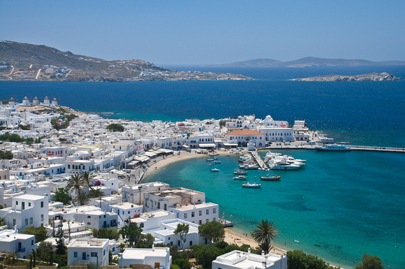 Mykonos Harbor View